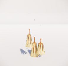 造型吊灯99_Sketchup模型