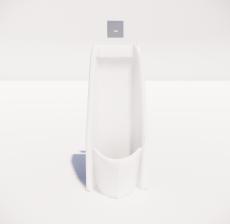 小便器1_Sketchup模型