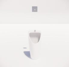 小便器2_Sketchup模型