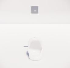 小便器3_Sketchup模型