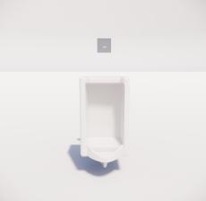小便器4_Sketchup模型