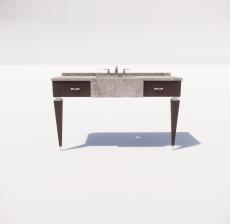 洗漱台1_Sketchup模型
