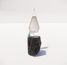 洗漱台2_Sketchup模型