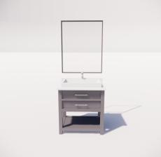洗漱台3_Sketchup模型