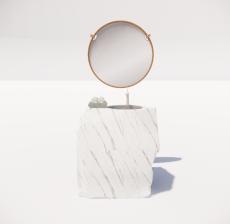 洗漱台4_Sketchup模型