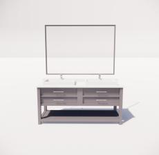 洗漱台5_Sketchup模型