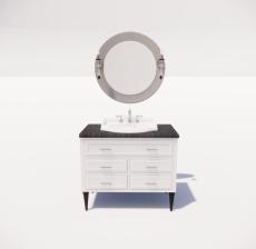 洗漱台6_Sketchup模型