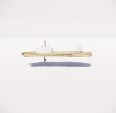洗漱台8_Sketchup模型