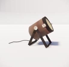 现代轻奢落地灯4109_Sketchup模型