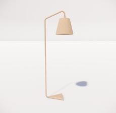 现代轻奢落地灯4127_Sketchup模型