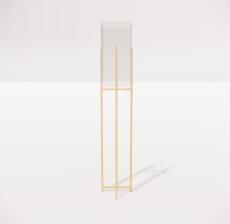 现代轻奢落地灯4135_Sketchup模型