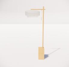 现代轻奢落地灯4144_Sketchup模型