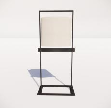 现代轻奢落地灯420_Sketchup模型