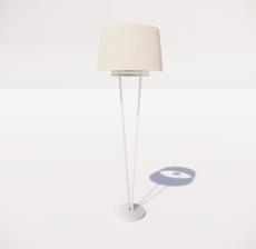 现代轻奢落地灯427_Sketchup模型