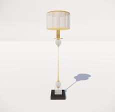 现代轻奢落地灯428_Sketchup模型