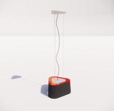 现代轻奢落地灯42_Sketchup模型