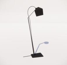 现代轻奢落地灯433_Sketchup模型