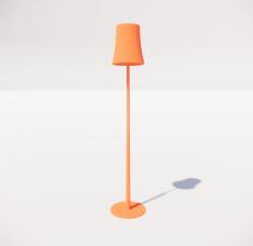 现代轻奢落地灯443_Sketchup模型