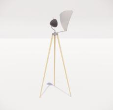 现代轻奢落地灯44_Sketchup模型