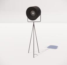 现代轻奢落地灯452_Sketchup模型