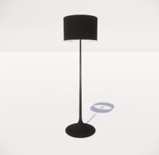现代轻奢落地灯454_Sketchup模型