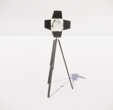 现代轻奢落地灯464_Sketchup模型