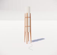 现代轻奢落地灯467_Sketchup模型