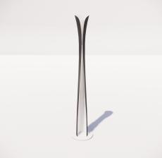 现代轻奢落地灯485_Sketchup模型