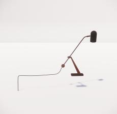 现代轻奢落地灯487_Sketchup模型