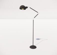 现代轻奢落地灯488_Sketchup模型