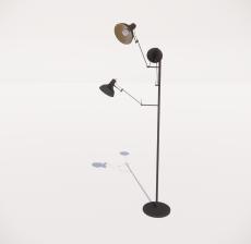 现代轻奢落地灯489_Sketchup模型