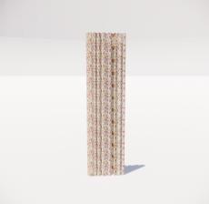 窗帘10_Sketchup模型
