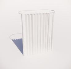 窗帘12_Sketchup模型
