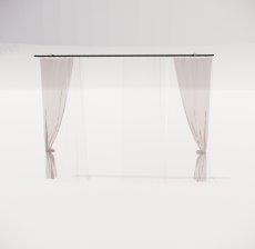 窗帘15_Sketchup模型