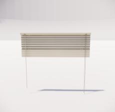 窗帘17_Sketchup模型