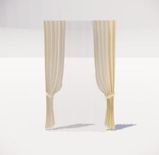 窗帘18_Sketchup模型