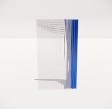 窗帘20_Sketchup模型