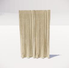 窗帘22_Sketchup模型