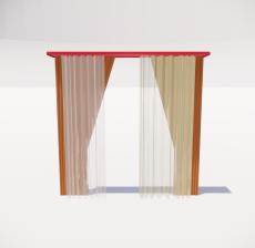 窗帘25_Sketchup模型