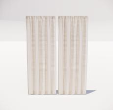 窗帘2_Sketchup模型