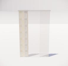 窗帘31_Sketchup模型