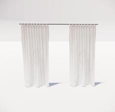 窗帘34_Sketchup模型