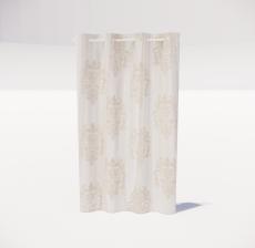 窗帘36_Sketchup模型