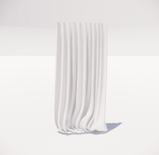 窗帘4_Sketchup模型