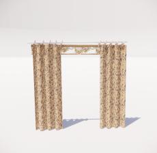 窗帘5_Sketchup模型