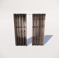 窗帘6_Sketchup模型