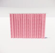 窗帘7_Sketchup模型
