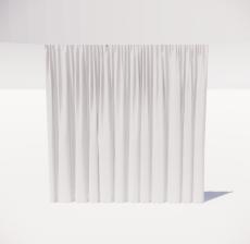 窗帘8_Sketchup模型