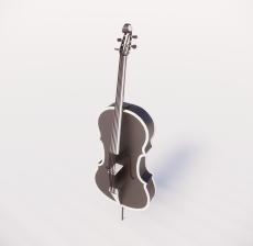 提琴1_Sketchup模型