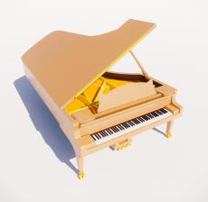 钢琴5_Sketchup模型